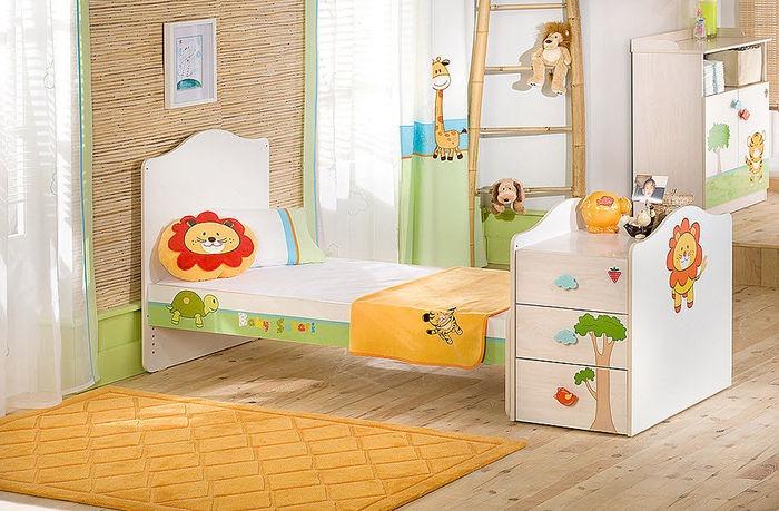 Lettini bambini estensibili legno ferro battuto for Lettini per bambini