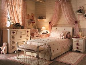 Camera da letto provenzale