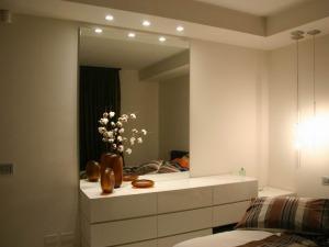 Illuminazione integrata camera da letto